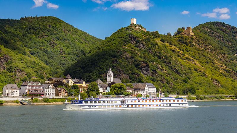 Sykkelcruise på Rhinen