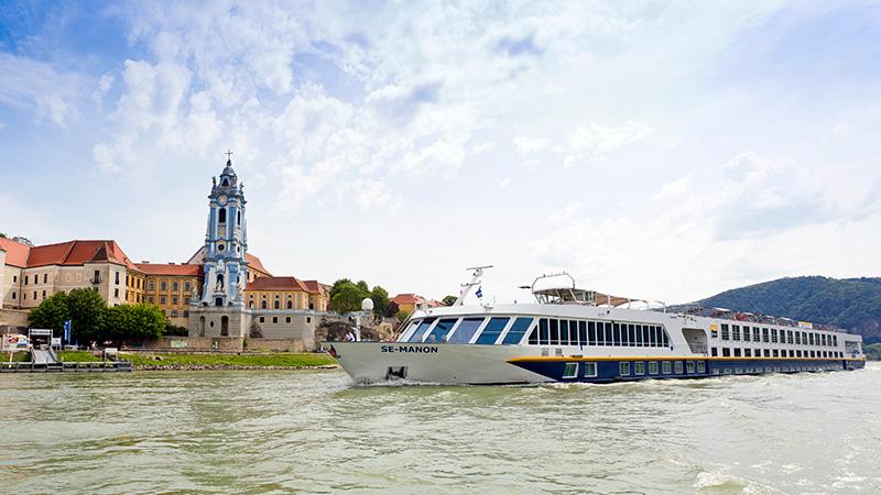 Sykkelcruise på Donau